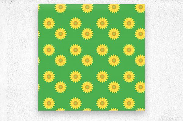 Sunflower (38)_1559876061.2705  Metal print