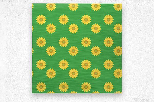 Sunflower (38)_1559876251.973  Metal print