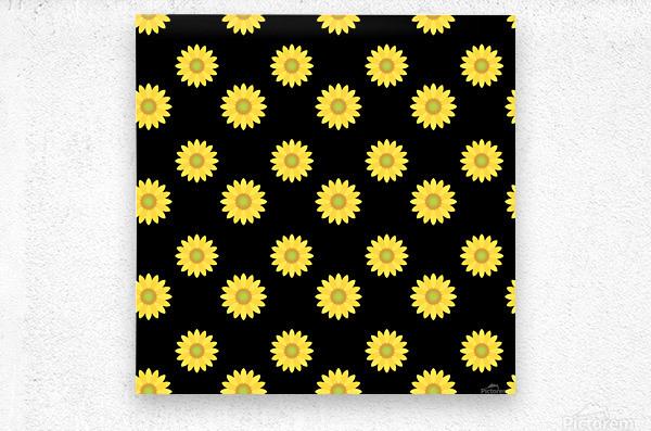 Sunflower (6)_1559876457.017  Metal print