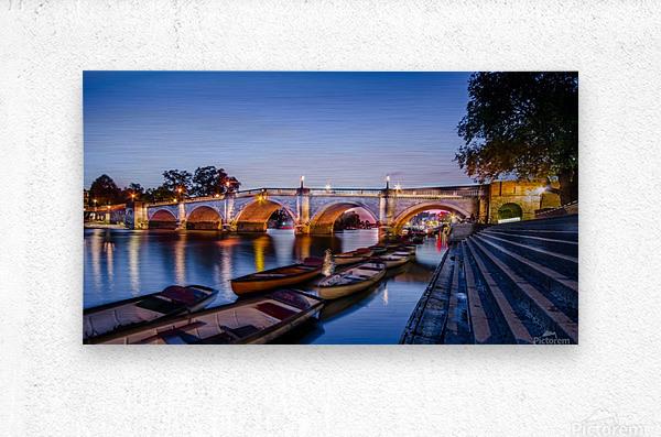Richmond Bridge London  Metal print