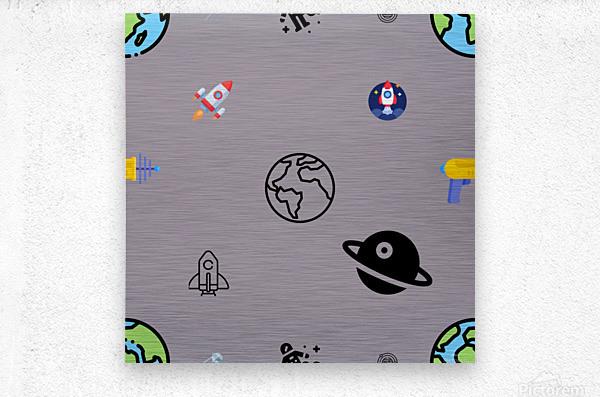 Space (5)_1560183087.2915  Metal print