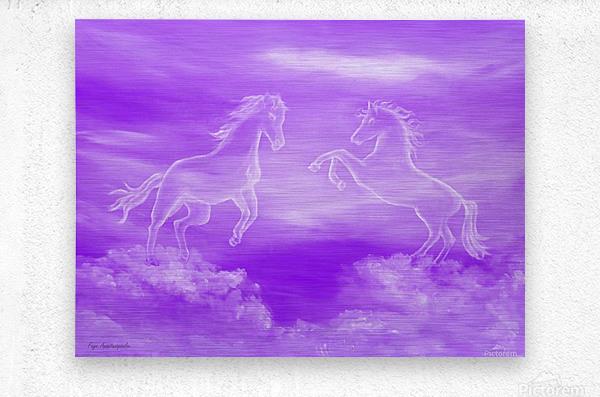 Spirit Horses  Metal print