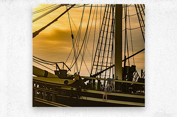 Friendship of Salem 8  Metal print
