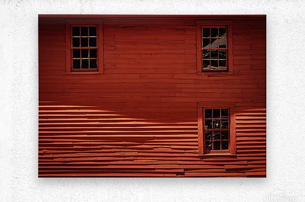 Red House - Harrisville NH  Metal print