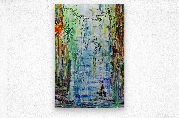 Dream Waterfall  Metal print