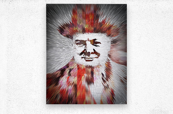 Winston  Metal print
