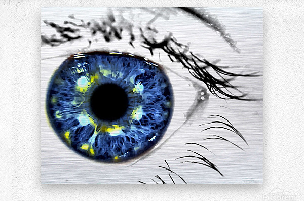 Eye Art 1  Metal print