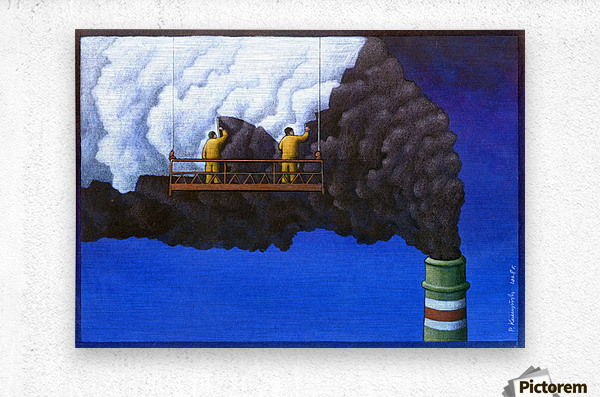 Pawel Kuczynski 21  Metal print