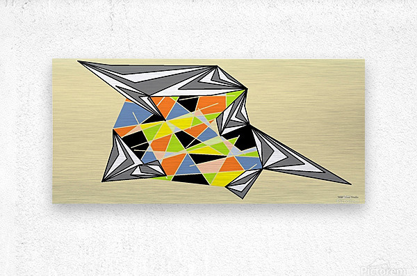 Starship  Metal print
