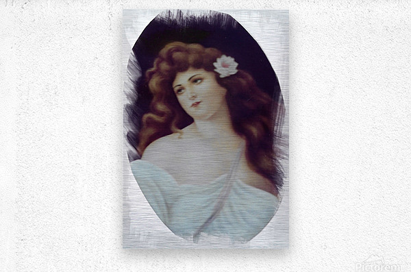 Titian Beauty  Metal print