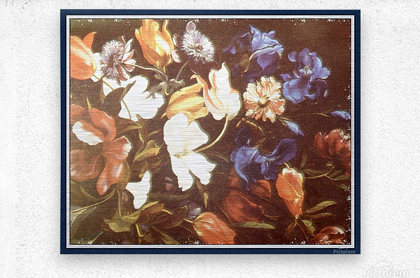 . Floral Explosion   9  Metal print