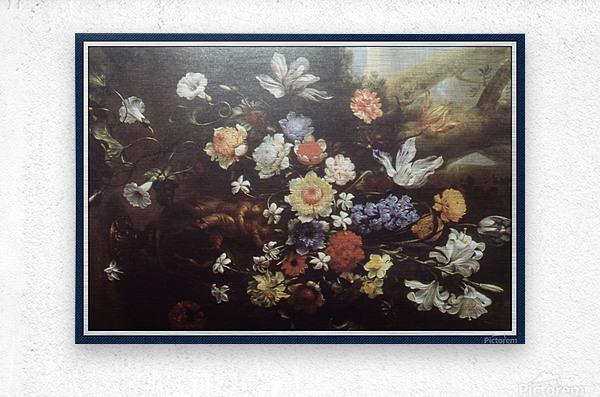Howard010_Fotor floral1 copy  Metal print