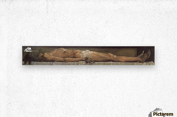 Death of Christ  Metal print