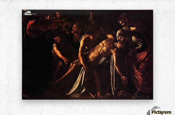 The ressurection of Lazarus  Metal print