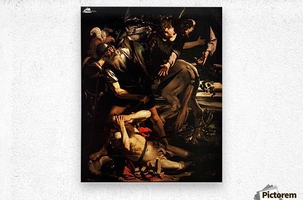 The conversion of Saint Paul  Metal print