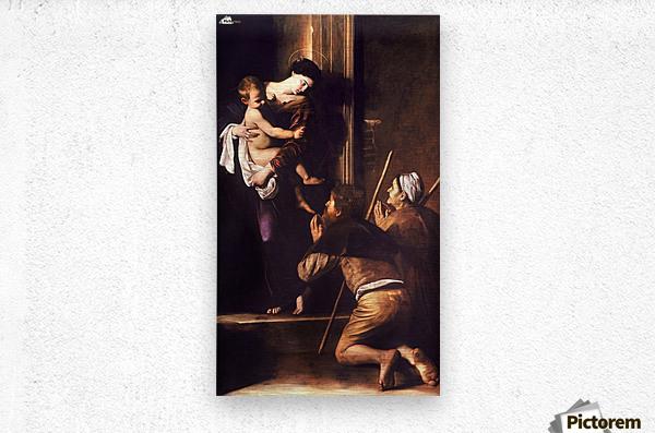 Madonna dei Pellegrini o di Loreto  Metal print