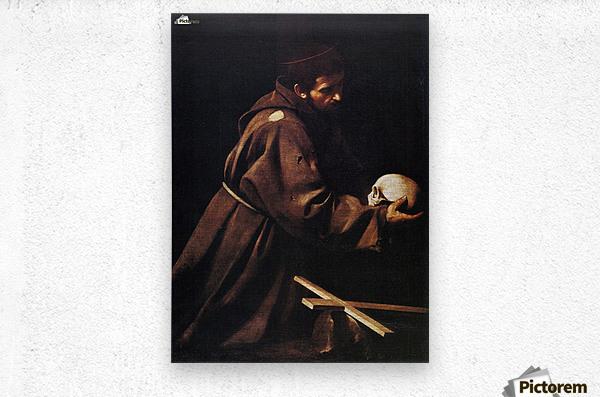 St Francis  Metal print