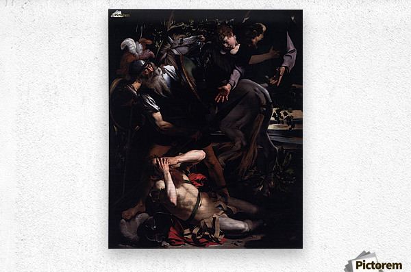 The Conversion of St. Paul  Metal print