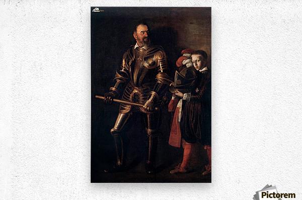 Knight of Malta  Metal print
