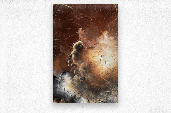 Dark Skies of the Soul  Metal print