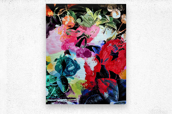 Touched by Nature  Metal print