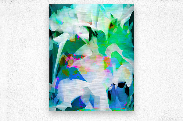 Snowdrops in Spring  Impression metal
