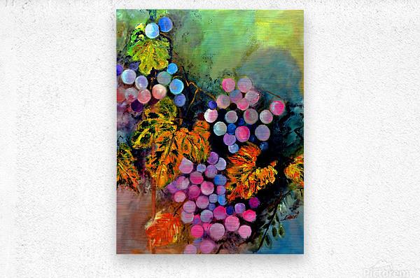 AO - The Grapes  Metal print