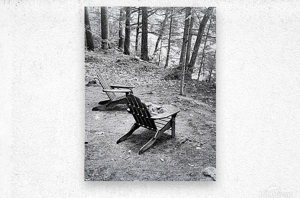 Relaxation spot   Metal print