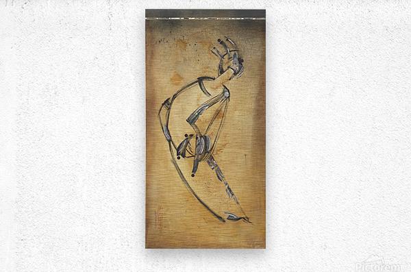 Japanese woman3  Metal print