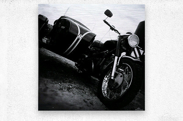 For the Love of Classic  Metal print