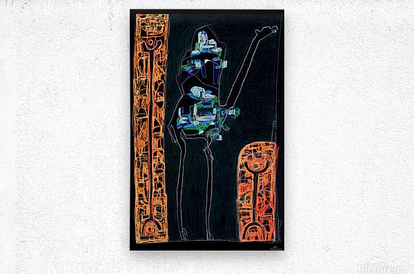 bck Kamel2  Metal print