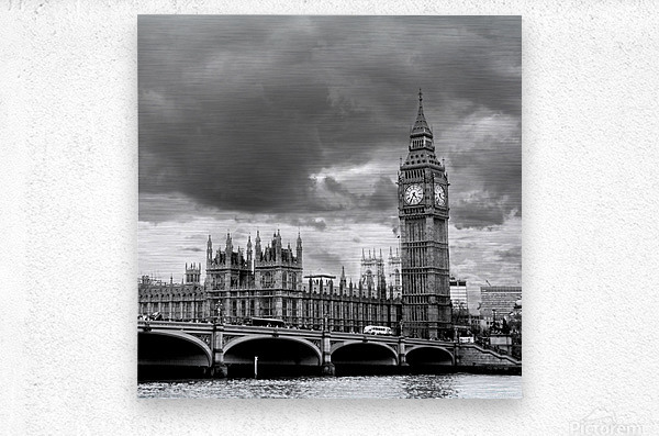 London Frozen in Time  Metal print