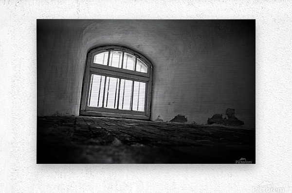 Prisoners View  Metal print