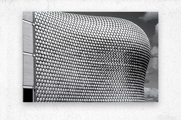 Selfridge Building Birmingham  Metal print