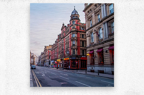 Liverpool street  Metal print