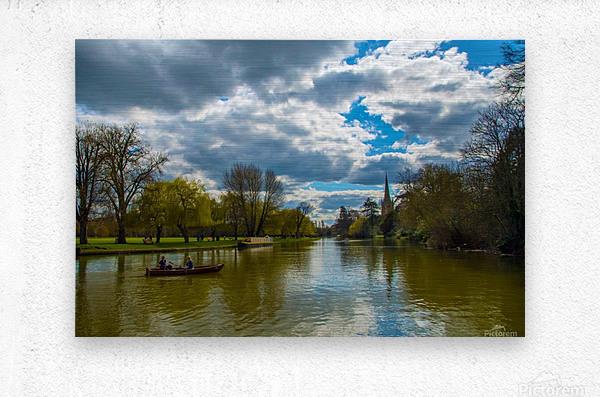 Stratford-Upon-Avon River  Metal print