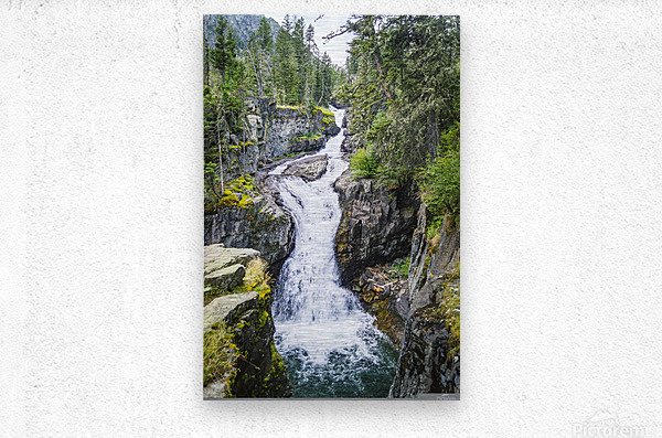 Big TImber Creek  Metal print