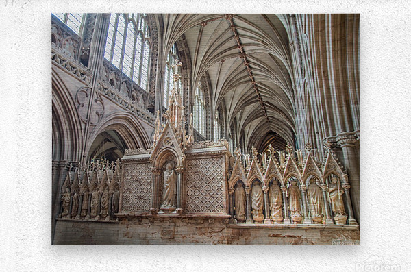 Litchfield Cathedral 3  Metal print