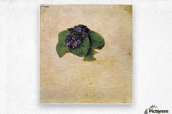 Violet Bouquet  Metal print