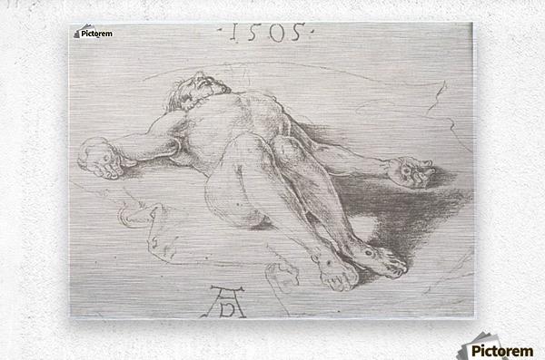 Body of Christ  Metal print