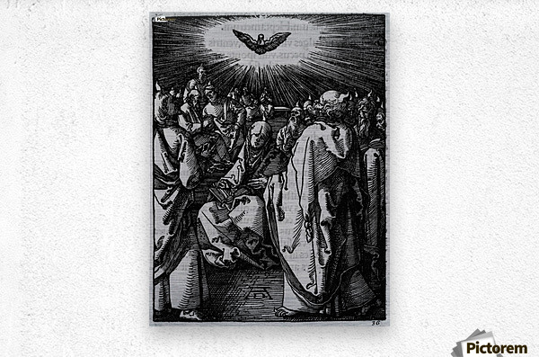 Holy wisdom presence  Metal print