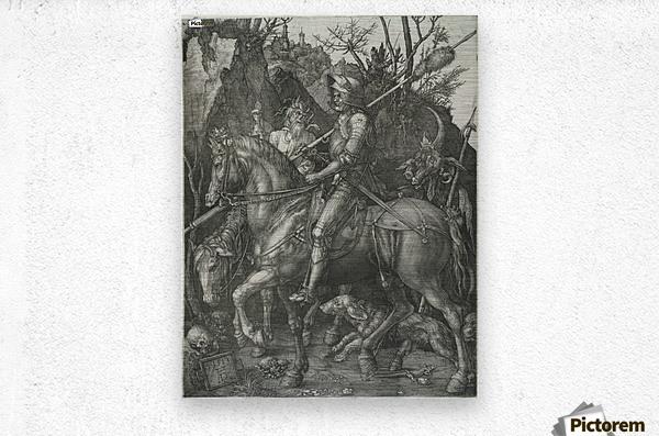 German knight  Metal print