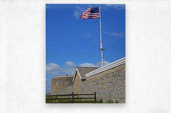 Historic Fort Snelling  Metal print