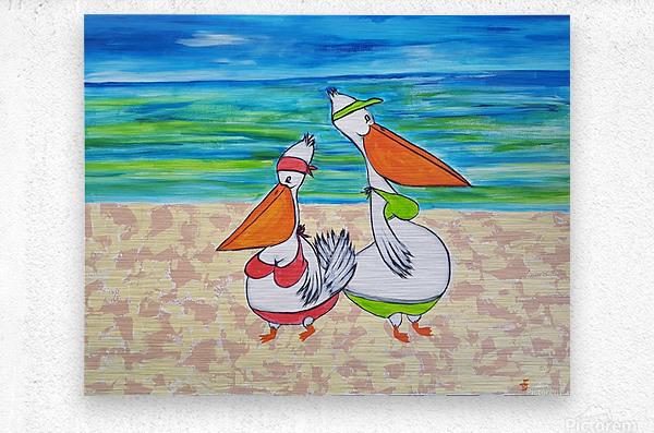 Pelican Mothers  Impression metal