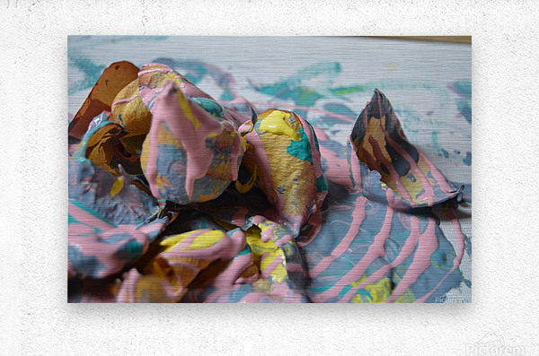 Painted Roses.09  Metal print