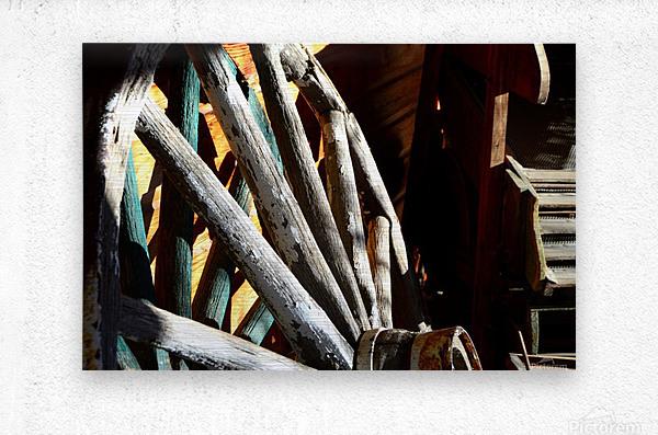 Wagon Wheels.04  Metal print