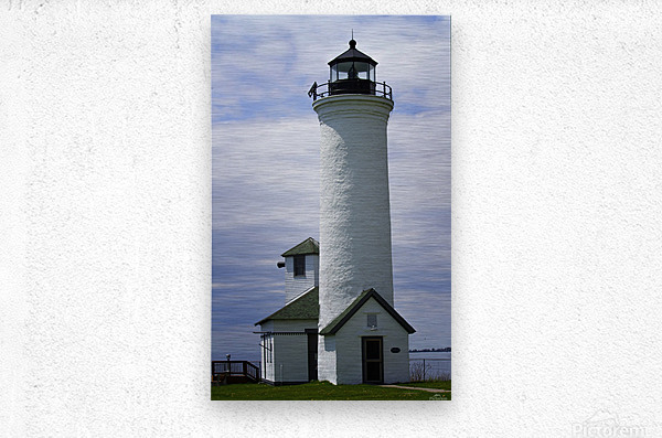 Cape Vincent Lighthouse  Metal print