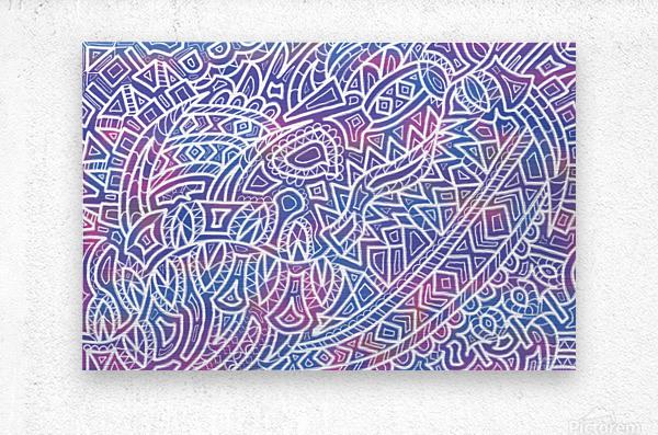 Iridescent Reverie  Metal print