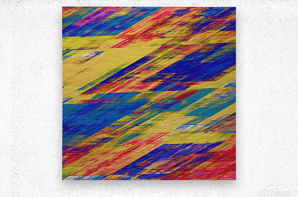 Abstract Composition 232  Metal print