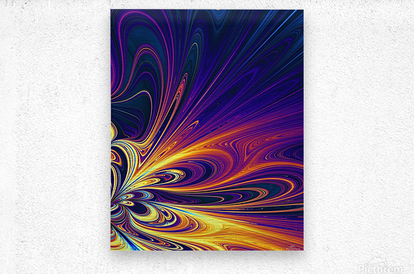 Abstract Composition 374  Metal print